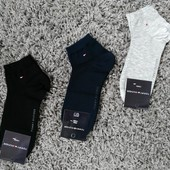 Носки мужские Tommy Hilfiger 3 цвета 40-45