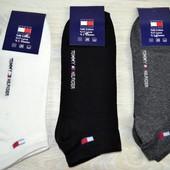 Мужские носки Tommy Hilfiger белые, черные, серые томми хилфигер
