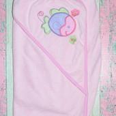 Стоковое полотенце-уголочек Spasilk для малышки, без бирки, новое