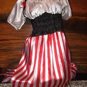 Платье маскарадное для пиратки 44-48размера +подарок