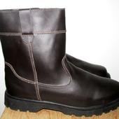 кожаные сапоги 29.5 см