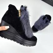 Зимние ботиночки с Ушками