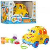 Автошка машинка-сортер с фруктами Limo Toy 9170 и Play smatr