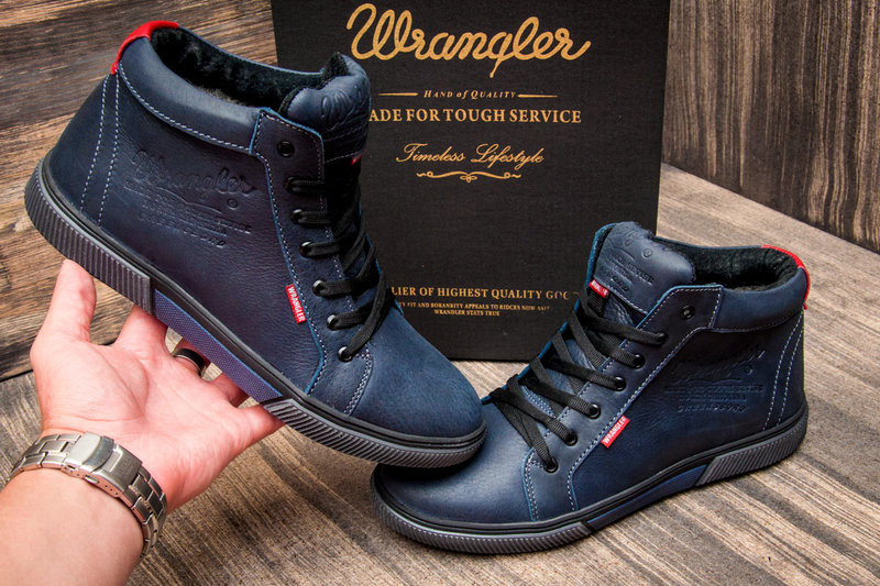 Ботинки wrangler на меху, р. 41, код kv-3993 фото №8