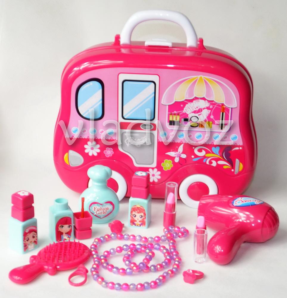 Набор детской декоративной косметики для девочек в чемоданчике beauty set фото №1