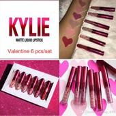 Набор жидких матовых помад Kylie Matte Liquid Lipstick +подарок- серёжки!