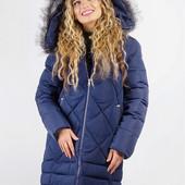 Куртка женская удлиненная, зима 08P058