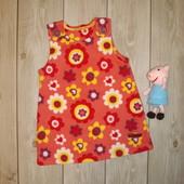 Платье-сарафан флисовый на 6-9 месяцев Marks & Spencer