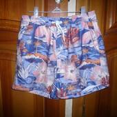 Шорты плавки гавайский стиль Burton Menswear размер С