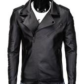 Мужская байкерсая  косуха куртка