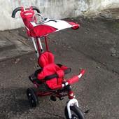 Велосипед Ardis Lexus Trike с надувными колесами детский красный