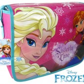 Школьная сумка через плечо для девочек Фроузен Анна и Ельза 7-10 лет