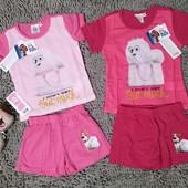 Пижама для девочек ТМ Nickelodeon Pets