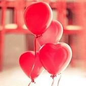 Воздушные шары, красные диам. 30 см. (100 шт.)