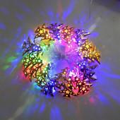 Гирлянда светодиодная елочки цвет мульти 20 LED 3 метра