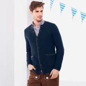 Шикарный вязаный кардиган свитер из шерсти L, XL, XXl тсм tchibo германия