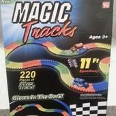 Детский светящийся гибкий Magic tracks меджик трек, мэджик 220 дет.