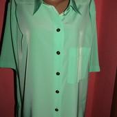 блуза рубашка большой р-р(22) сост новой Германия