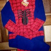 Слип,пижама флис Спайдермен,размер S на рост 164см!