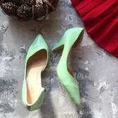 Новые мятные туфли лодочки рр 40