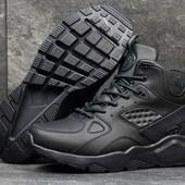 Зимние кроссовки Nike Huarache blue