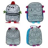 Рюкзак раскраска с фломастерами 4 вида