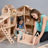 Кукольный домик-конструктор и  мебель !!!!!!!!