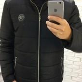 Размеры 46-52 Стильная мужская Куртка Зима2017