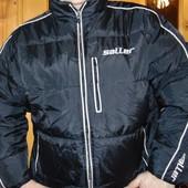 Брендовая стильная курточка пуховик Saller ( Саллер) .л-хл .