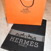 Hermes мужской шарф шерсть