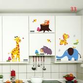 виниловая наклейка на стену мебель  Животные