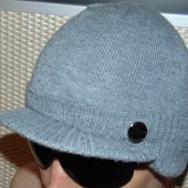 Брендовая стильная шапка шапочка кепи .New York.л-хл .