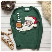 Новогодний мужской свитер рр М