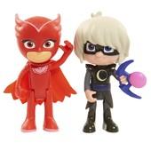 Герои в масках Алетт и Лунная девочка just play pj masks Owlette and Luna girl