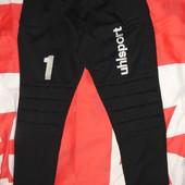 Спортивние фирменние вратарские штани брюки Uhlsport Германия .xs-s