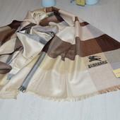 Burberry Шарф  палантин кашемир + шерсть   шерсь шовк В наявності Розмір 200*70   Якість відмінн