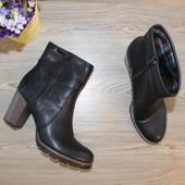 40 26см Graceland Ботинки на устойчивом каблуке ботильоны
