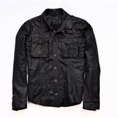 Стильная кожаная куртка Zara Men. Размер XL