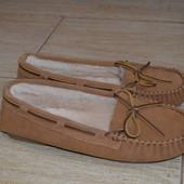 ARA 40р  немецкие туфли мокасины кожаные зимние, цегейка