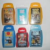 карточная игра Top Trumps:хищники, трансформеры, Доктор Кто, олимпийские чемпионы и др.