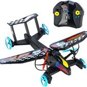 Hot Wheels Самолет на радиоуправлении sky shock rc race design