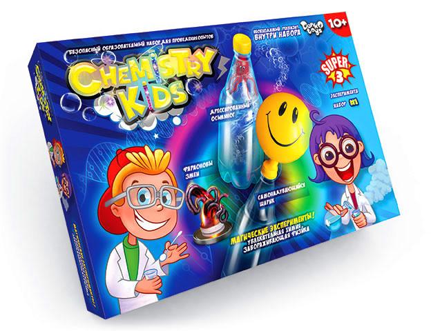 Набор chemistry kids для проведения безопасных опытов chk-01 фото №1