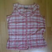 Фирменная хлопковая блузка XXL