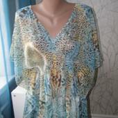Amisu блуза, накидка на море S-M размер
