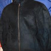 Брендовая стильная зимняя курточка дубленка Urban Spirit м-л .
