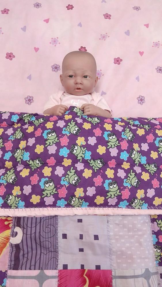 Детское одеялко в стиле пэчворк. фото №1
