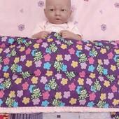 Детское одеялко в стиле пэчворк.
