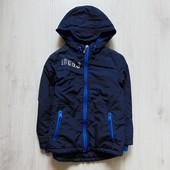 Стильная демисезонная куртка для мальчика. George. Размер 5-6 лет. Состояние: идеальное