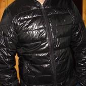 Стильная Еврозима спортивная брендовая курточка H&M.л .