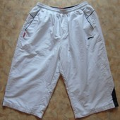 Спортивные белые шорты 50